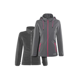 High Colorado Vancouver 2in1 Jacke Damen grau